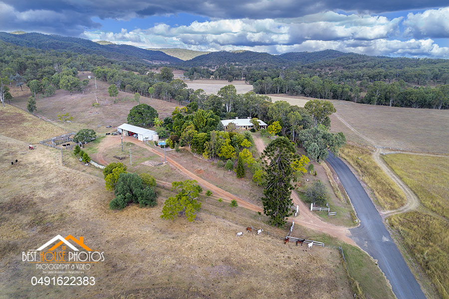 Hervey Bay Rural property aerial photography 02