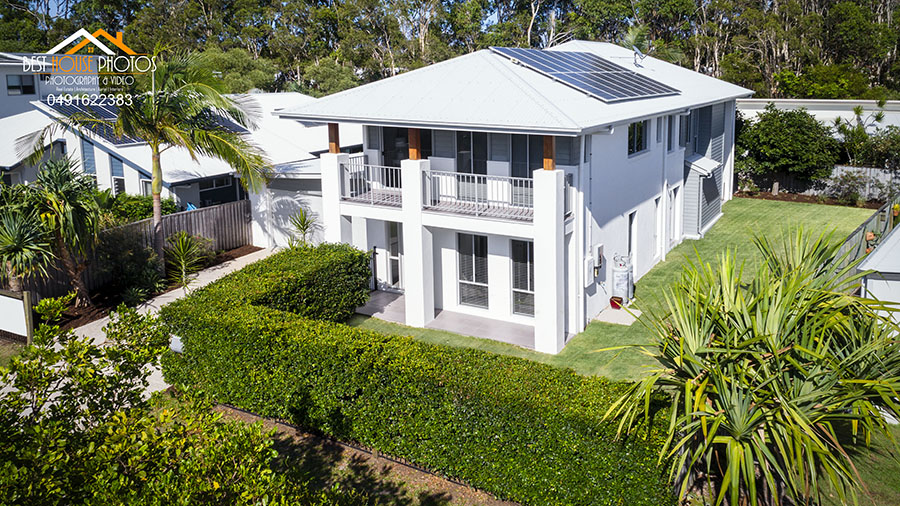 Real estate Aerial Photo Hervey Bay